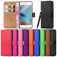 Apple iPhone SE 5S 6S 7 Plus Case Cover Flip Wallet Leather Case Magnetic Luxury