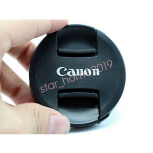 New black For EF EFS EF-M Lens Canon Snap On Lens Cap 55mm Cover protector