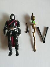 "3.75"" Gi Joe  Cobra Commander Rare  Action Figure with Weapons"