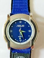 ASUS Quartz Analog Wristwatch Water Resistant Silver USA SELLER