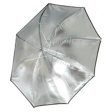 "Interfit INT262 36"" Silver Lighting Umbrella (w/ Black Backing)"