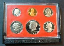 """1981-S ONE """"NEW PROOF SET FROM MINT SEALED SHIPPING BOX"""" DEEP CAMEO S.B.ANTHONY"""