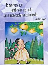 Mary Engelbreit Handmade Magnet-To Me Every Hour Of The Day And Night