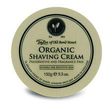 Taylor of Old Bond Street DOPOBARBA Organic Shaving Cream F. pelle sensibili