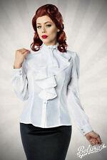 Taillenlange Langarm Damenblusen, - tops & -shirts im Passform