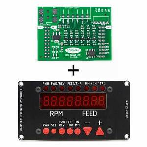CLOUGH42 Electronic Leadscrew (ELS) Combo Interface and Control Panel Kit