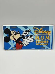 Disney MGM Studios Theme Park License Plate Mickey Mouse