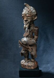 Songye Fetish Figure, Democratic Republic of Congo, Central African Tribal Arts
