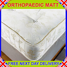 "*NEW* 4ft 6"" Double MEDIUM TO FIRM ORTHOPAEDIC MATTRESS 25CM DEEP"