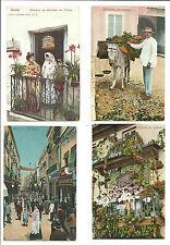 30 Postales con motivos de Sevilla de Primeros siglo XX
