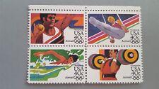 USA AIRMAIL OLYMPICS 84 1983 set of 4