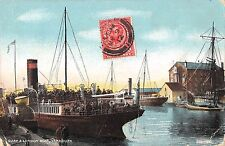 BR78573 quay and london boat yarmouth ship bateaux uk