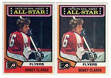 1X BOBBY CLARKE 1974 75 Topps #135 EXNM Lots Available FLYERS All Star