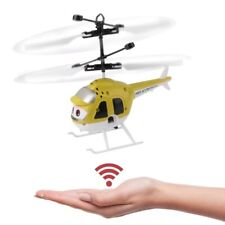 Flying-Helicopter-plane-Hand-Sensor-Children-Toy-in-YELLOW-color