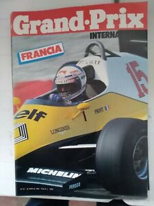 RIVISTA GRAND PRIX INTERNATIONAL N°61 1983