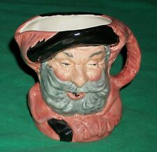 1949 ROYAL DOULTON SIR JOHN FALSTAFF HAND MADE TOBY FACE MUG WINE BIBBER GLUTTON