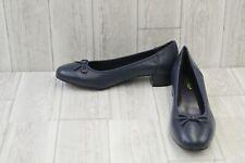 David Tate Tammy Heels - Women's Size 11 W - Navy