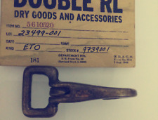 Double RL Arrow 100% Solid Brass Weathered Stained Rusty Key Holder Rectangle