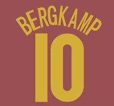 No 10 Bergkamp Arsenal Camisa de fútbol del 4 Grosella 2005-2006