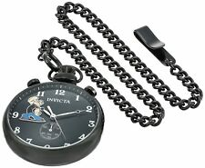 Invicta Men's 'Character Collection' Quartz Stainless Steel Pocket Watch, Color: