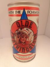 OLDE FROTHINGSLOSH CRIMPED STEEL PULL TAB BEER CAN #103-40  PITTSBURGH, PA.