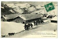 CPA 73 Savoie Lanslebourg Poste de la Turra animé Chasseurs Alpins