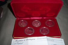 Bradshaw & Darlington of England 1979 Millennium Silver Crown  RARE PROOF SET