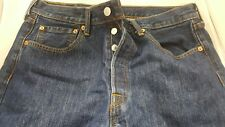 Levi's 501 Button Fly Men's Blue Jeans 32 X 36 Red Tab