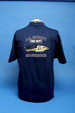 L.A. County Fire Department Air Operations T Shirt. The Firehawk