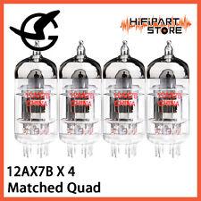 4pcs Shuguang 12AX7B Matched Quad Valve Tube Replace Mullard Gold Lion JJ ECC83