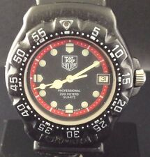 TAG Heuer F1 Formula 1 Mens Quartz Watch 383.513/1 Vintage 1980s/1990s