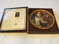 Norman Rockwell's Colonials Light for the Winter collector plate 13121B 1987 #%