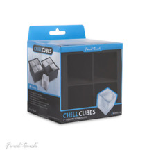 Giant Ice Cube Tray - Make a total of 8 ice cubes (Pack of 2)