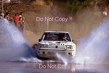 Timo Salonen Peugeot 205 Turbo 16 World Rally Champion 1985 Photograph 1