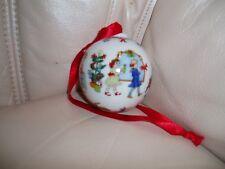 "ROSENTHAL. NEW.  CHRISTMAS TREE PORCELAIN ORNAMENT DECOR. 2 1/2 "" BALL."