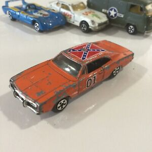 VINTAGE ERTL ORANGE GENERAL LEE DODGE CHARGER THE DUKES HAZZARD 1:64 SINGAPORE