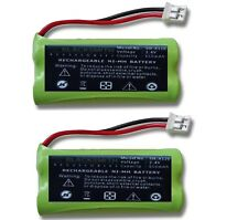 2 X AKKU für SIEMENS GIGASET A245 A245 WEIB A245 DUO Telefon accu Batterie