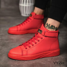 Mens Casual High Top Outdoor Running Breathable Walking Trainers Board Shoes SZ
