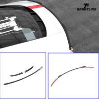 Fit For AUDI R8 Coupe 2016-2019 3PCS Rear Trunk Spoiler Wing Carbon Fiber