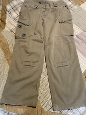Tad Gear Force 10 Cotton Khaki Cargo Pants 36x32