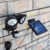 22LED Dual Detector Solar Spot Bewegungsmelder Outdoor Security-Fluter