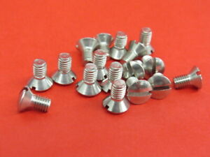 1935-39 Ford windshield frame screws flathead    R-014