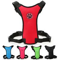 Dog Car Harness Safety Breathable Mesh Pet Seat Belt Vest for Outdoor Activity