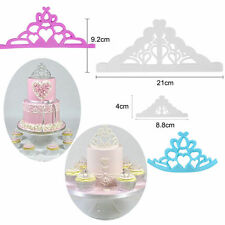 Princess Prince Crown Cookie Cutter Wedding Cake Decor Icing Cutting mold Tools
