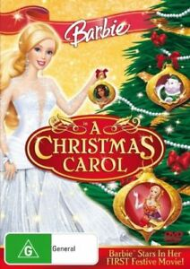 BARBIE IN A CHRISTMAS CAROL DVD REGION 4 NEW AND SEALED