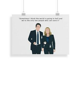 The X-Files, quote, print, poster, prints, posters, wall art, gift
