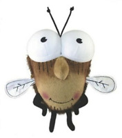 "Doll - Fly Guy (Soft Plush beanbag Stuffed Toy) 8"" Flyguy from Tedd Arnold books"