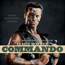 COMMANDO (MUSIQUE DE FILM) - JAMES HORNER (CD)