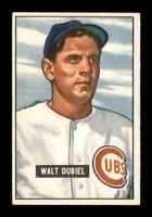 1951 Bowman Set Break # 283 Walt Dubiel EX-MINT *OBGcards*