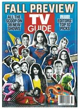 TV Guide 2015 Fall Preview 38 New Shows Supergirl Melissa Benoist Bruce Campbell